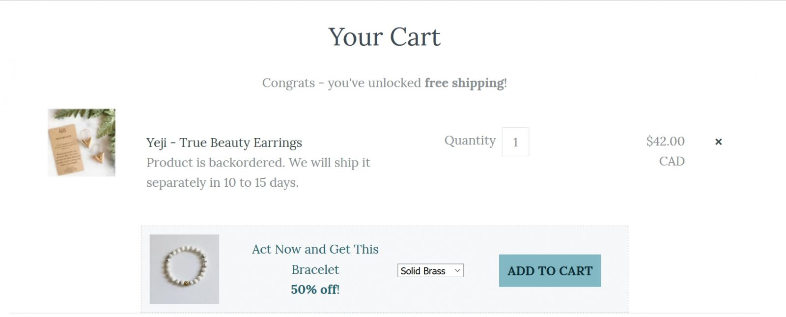 improve your conversion rate with free shipping