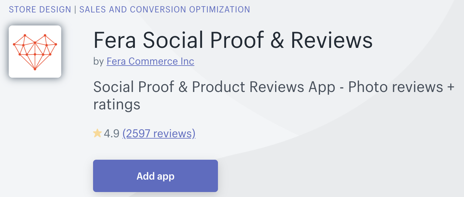add product reviews shopify
