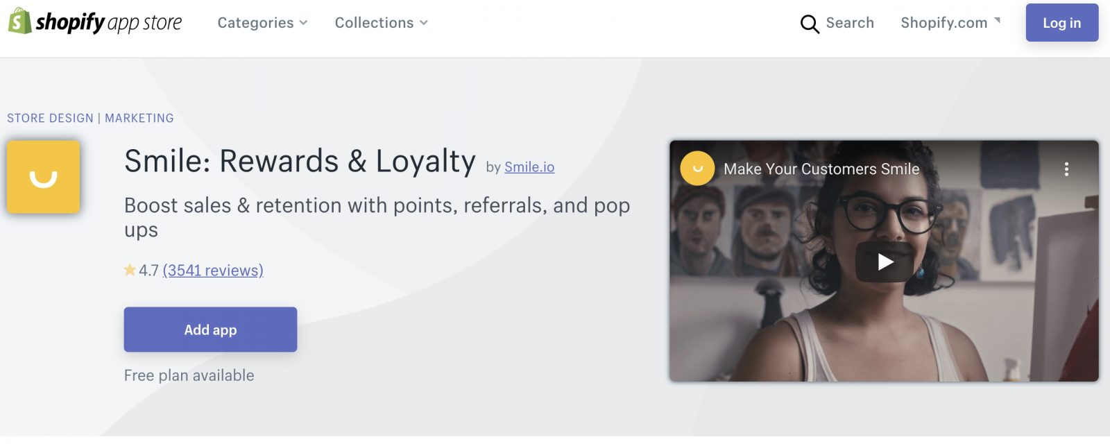 smile and fera loyalty points integration with reviews