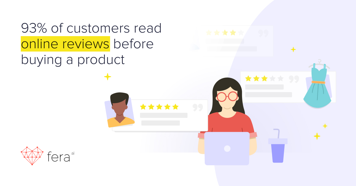 product reviews statistics - product review stats